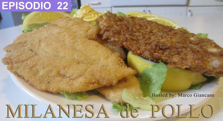 La milanesa de pollo mas cujiente del mundo!  2 recetas: Clasica, empanizada con pan rallado y Moderna empanizada con Corn flakes! #milanesa #receta #pollo #cornflakes #Italia #enlacocinaconmarco #giancane