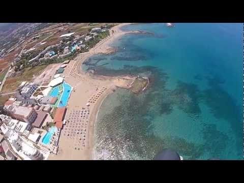 Fly over Malia Beaches