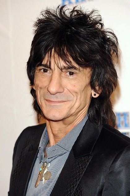 Ronnie Wood is Rod Stewarts best friend. They have often remarked about their similar  noses and hair.