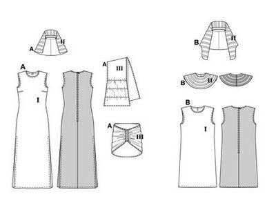 disfraz de egipcios con patrones básicos | Trato o truco