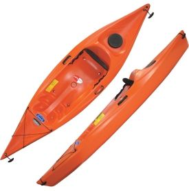 future beach spirit 120 kayak tangerine dick