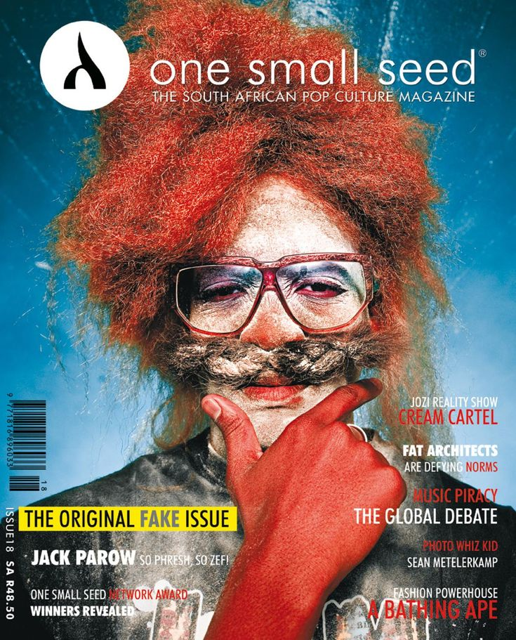 One Small Seed Issue 18  The South African Pop Culture Magazine.