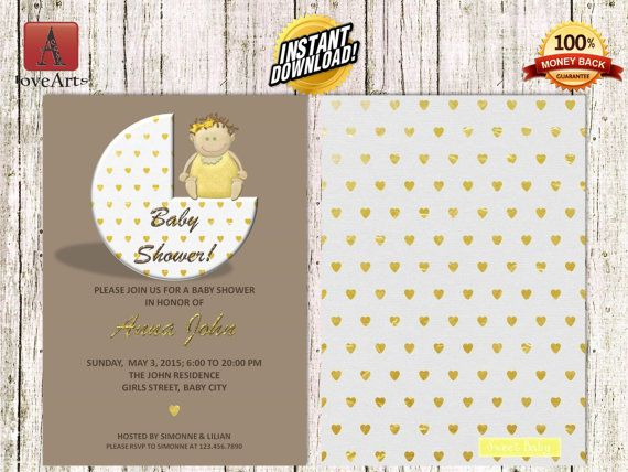 Hey, I found this really awesome Etsy listing at https://www.etsy.com/listing/247675128/instant-download-front-back-baby-shower