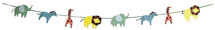 Meri Meri Animal Parade Garland -