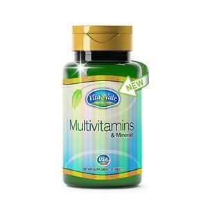 MULTIVITAMINS & MINERALS 30 COMPRIMIDOS: VITAMINAS