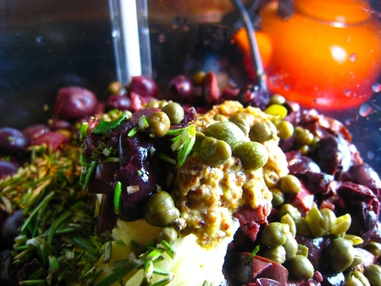 Fig & Olive Tapenade For Blue Cheese Recipes — Dishmaps
