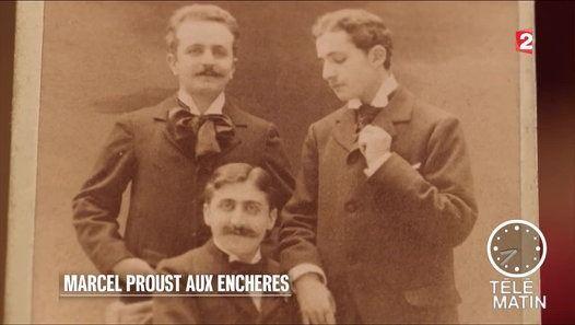 Auction on French TV: Adjugé vendu - Marcel Proust aux enchères - 2016/05/30 Une grande collection proustienne aux enchères http://telematin.france2.fr https://www.facebook.com/telematinf2 https://twitter.com/telematin @telematin #telematin https://instagram.com/telematin_officiel/