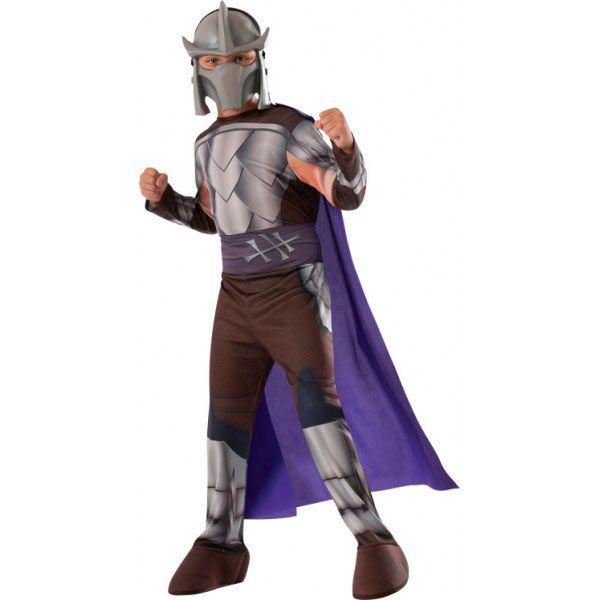 Disfraz Shredder Infantil, Las Tortugas Ninja Serás el temible villano al que se enfrentarán Las Tortugas Ninja al ponerte este Disfraz de Shredder.