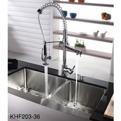 Kraus Sink Installation : farmhouse kitchen sink adds professional style to your home. The Kraus ...
