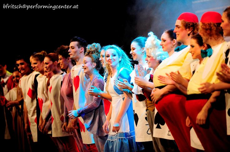 """This one moment when you finally realize that you have done a great job on stage… """"Alice in Wonderland Jr."""" at Wiener Stadthalle  #dancing #singing #acting #musical #theatre #beautiful #instadaily #grace #dynamic #instagood #stage #bühne #webstagram #tbt #lights #happy #passion #love #student #fun #energy #artists #instalike #exciting #success #power #vienna #photobyfritsch #performingacademy @performingcenteraustria"""