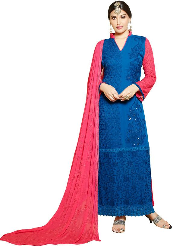 Gorgeous Royal Blue and Pink Suit https://www.ethanica.com/products/gorgeous-royal-blue-and-pink-suit
