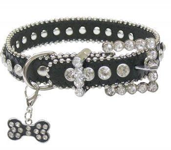 Rhinestone Bling Dog Collar | ChickSaddlery.com