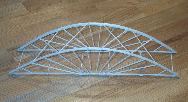 Wood Truss Design | Balsa Bridge Design | coltongilbert