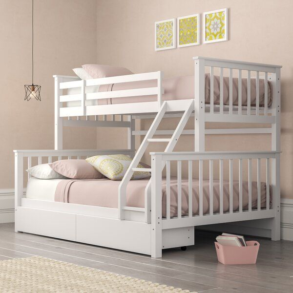 Isabelle Max Thomson Single Triple Sleeper Bunk Bed With Drawers