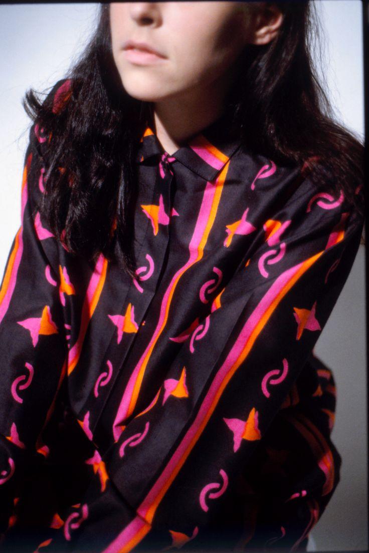 """Picasso"" shirt and printed fabric for Marimekko. (-91)"