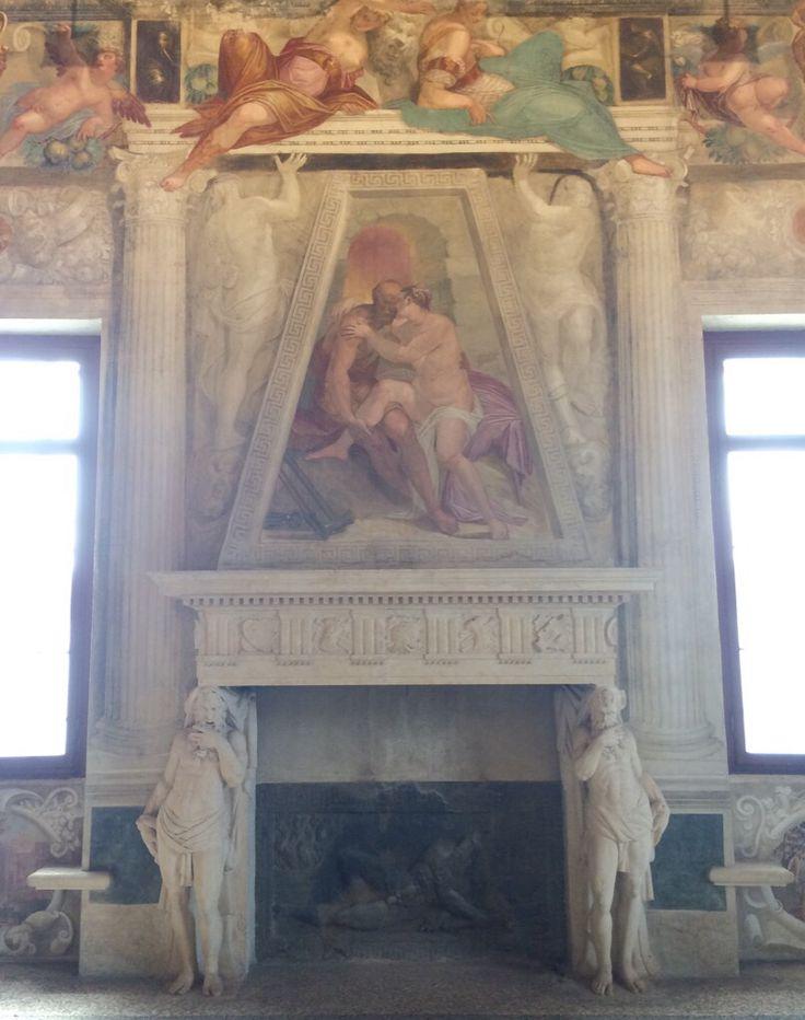 Stanza di Sefonisba. Affreschi di G.B Zelotti. Villa Caldogno (Caldogno, Vicenza). Buona giornata