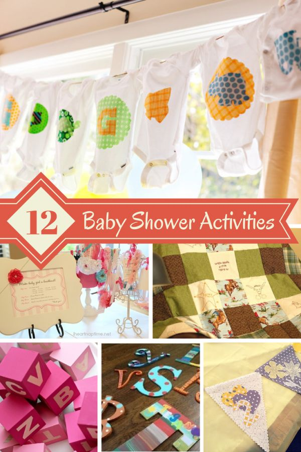 12 Great Baby Shower Activities