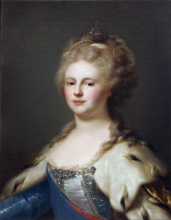 Empress Maria Fedorovna after Lampi - Category:Maria Feodorovna (Lampi) - Wikimedia Commons