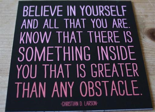 believe...