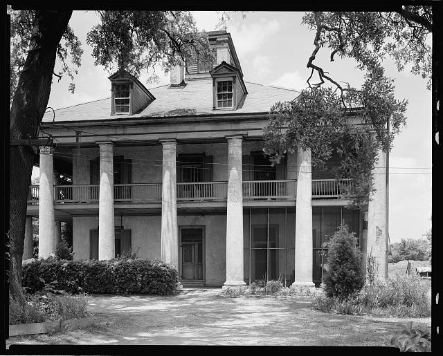 Seven Oaks, Westwego, Jefferson Parish, Louisiana. Sadly demolished now.