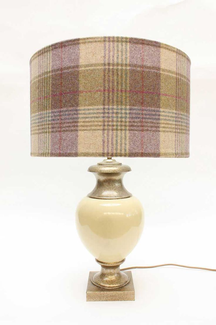 Pins & Ribbons - Home Furnishings - Lampshades - Tartan and Tweed Lampshades