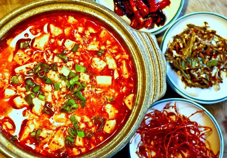 Spicy Korean Tofu Soup (Soondobu Jigae) | Mother's Mementos