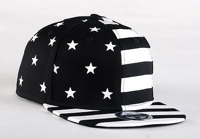 USA American Flag Snapback BLACK Adjustable United States 2014 FIFA World Cup Cap