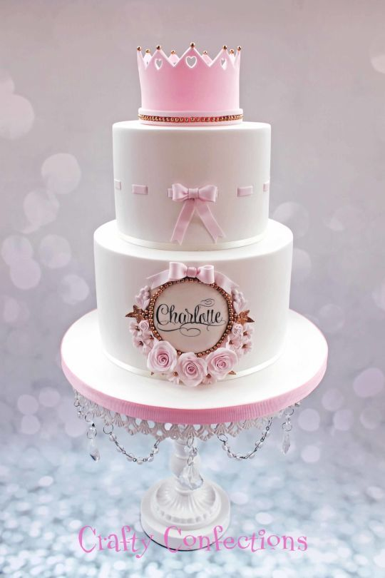 Torta rosa princesa