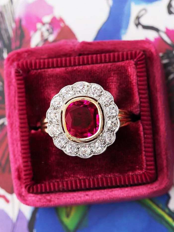 How To Tell If A Ruby Is Real Ruby Who What Wear Ruby Red
