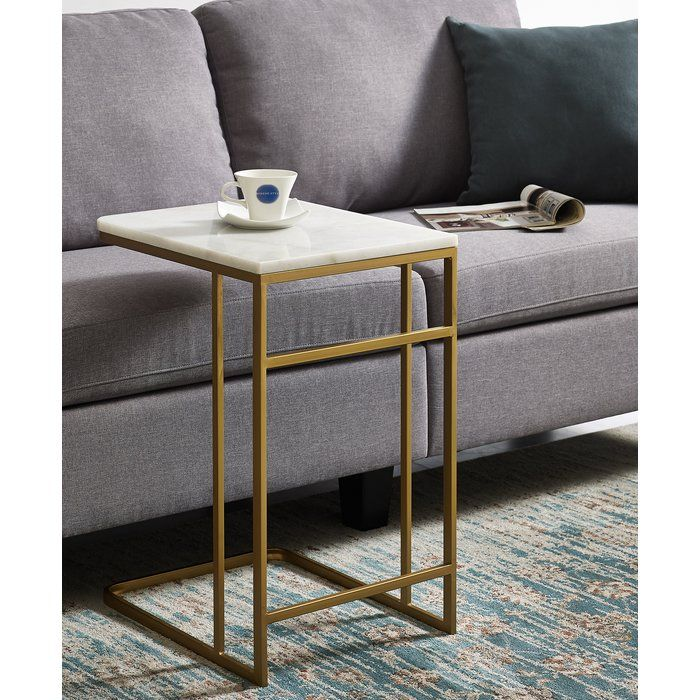 Chadwick Marble End Table Marble End Tables Marble Side Tables Living Room Side Table C side tables living room