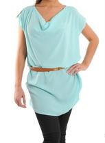 Wal G  Silk Style Tunic