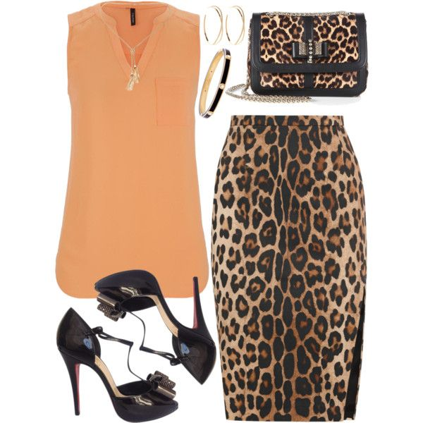 Untitled #2377 by emmafazekas on Polyvore featuring moda, maurices, Altuzarra, Christian Louboutin, Lana and Henri Bendel