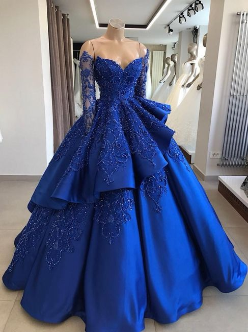 Abendkleid Blau Online | Abendkleider Lang Günstig ...