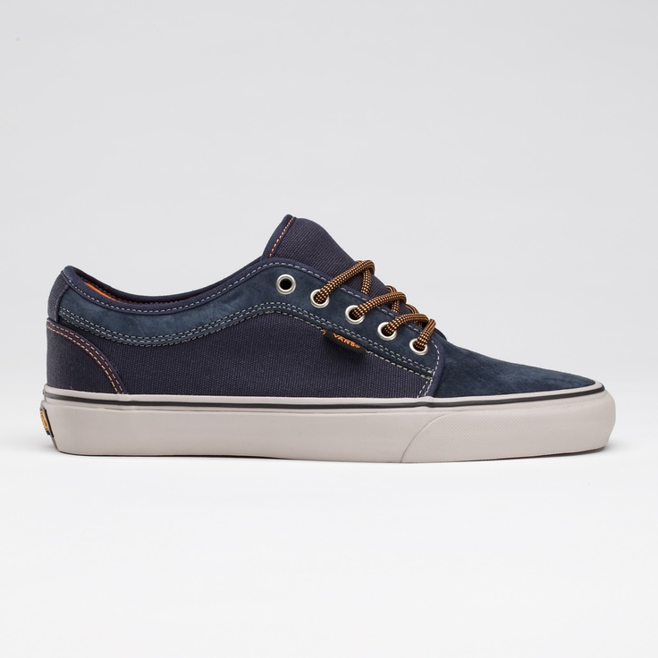Vans - Chukka Low (Navy/Light Gray). Liking these.