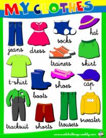 Clothes - worksheet