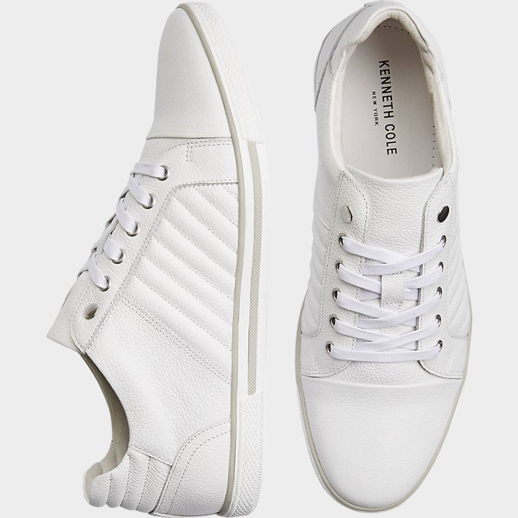 Buy a Kenneth Cole Cool Down White Sneakers and other Casual Shoes at Men's Wearhouse. Browse the latest styles, brands and selection in men's clothing.