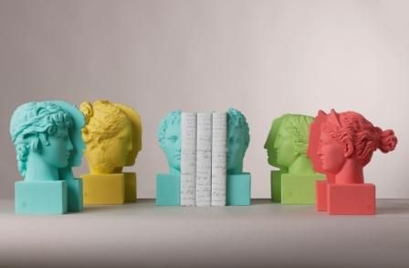 Sophia's bookend in new vibrant colors. Mint, Lemon, Lime, Coral.