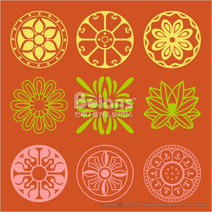 꽃과 식물 문양 패턴. 한국 전통문양 패턴디자인. (BPTD020226)	 Flower and Plant Pattern Design. Korean traditional Pattern is a Pattern Design. Copyrightⓒ2000-2014 Boians.com designed by Cho Joo Young.