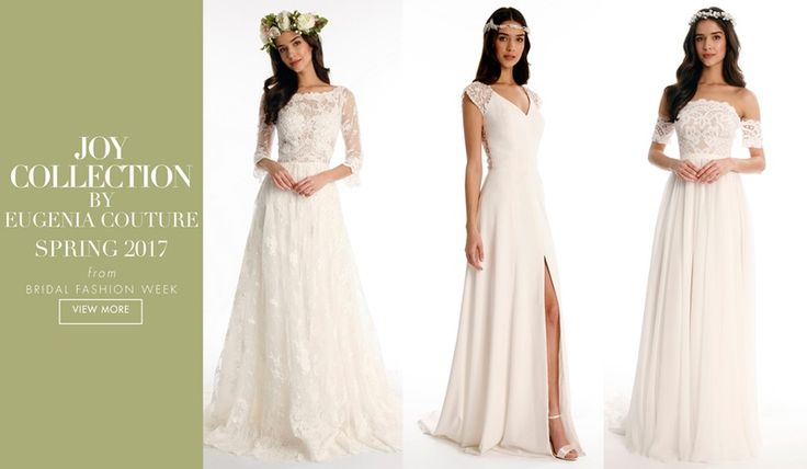 Joy by Eugenia Couture Spring 2017   Article: Boho-Chic Romance from the Joy Collection by Eugenia Couture   Photography: Courtesy of Eugenia Couture   Read More:  http://www.insideweddings.com/news/fashion/boho-chic-romance-from-the-joy-collection-by-eugenia-couture/2959/