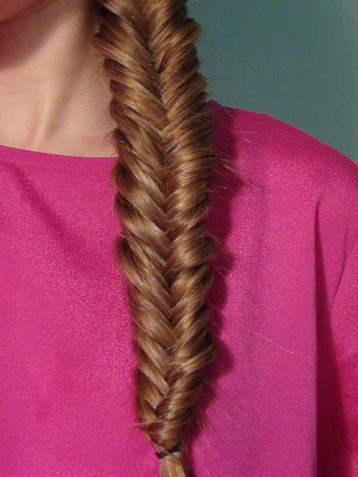How To Make A Fish Tail Braid Character Ideas Fishtail