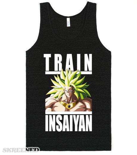 Train Insaiyan - Broly   Broly SSJ3 #Skreened
