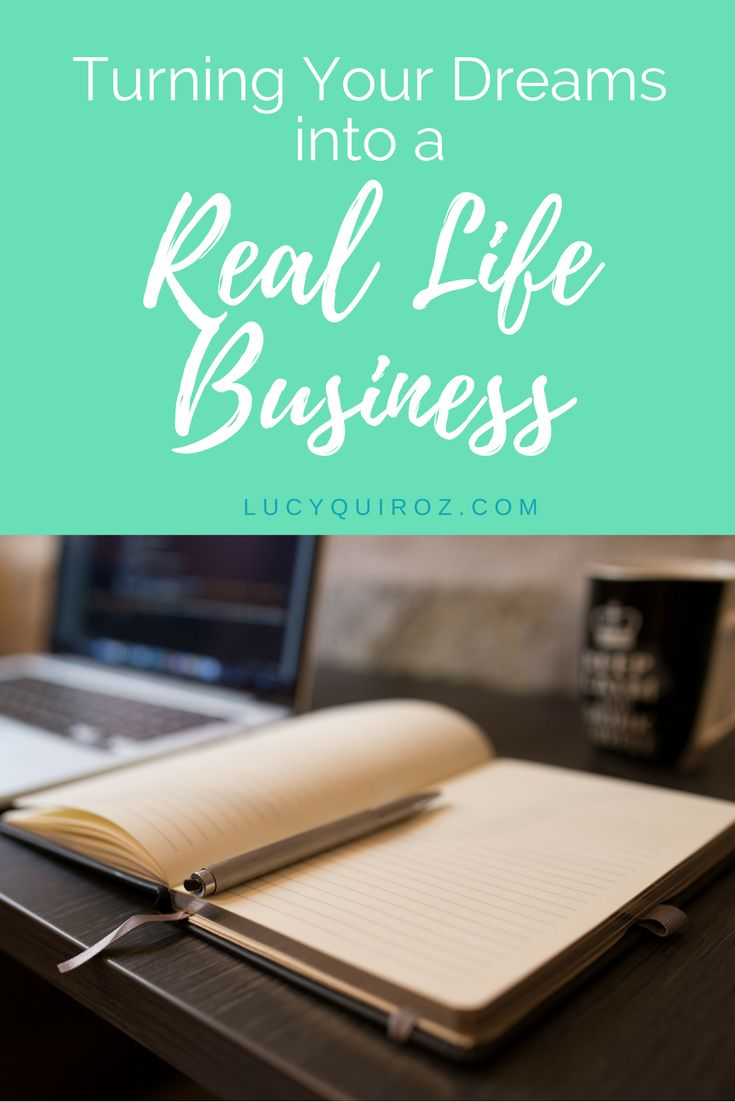 Turning Your Dreams into a Real Life Business: When you choose a long-term goal to work towards you are taking the first step in achieving your dream. Your long-term goal will define your business plan, and direct your strategic decisions. By Lucy Quiroz