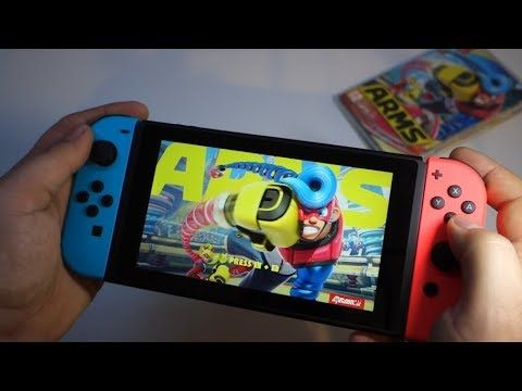 ARMS - Nintendo Switch fighting game - unboxing card game + gameplay - Andrasi.ro