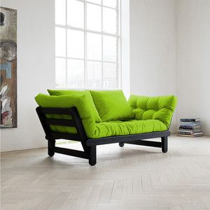 Beat Sofa Wenge Frame Lime, 299€, now featured on Fab.