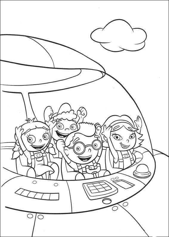 little einsteins coloring pages 13