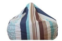 Blue stripe bean bag.  Save $18 now just $102.