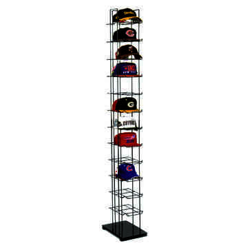 wall hat rack baseball caps cap tower mounted racks for