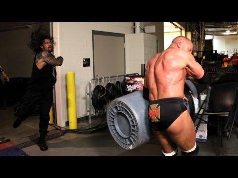 #8 wwe Wrestlemania 32 2016 : Triple H VS Roman Reigns highlights - YouTube