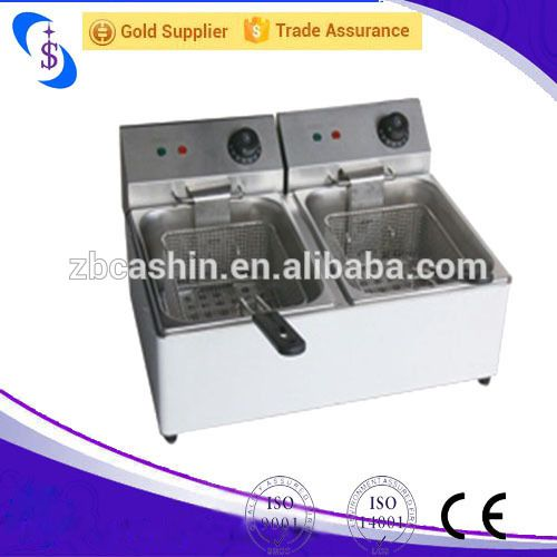 Stainless steel electic fryers