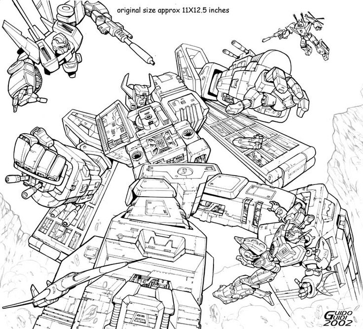 Dreamwave Calendar 2003 by GuidoGuidi.deviantart.com on @DeviantArt